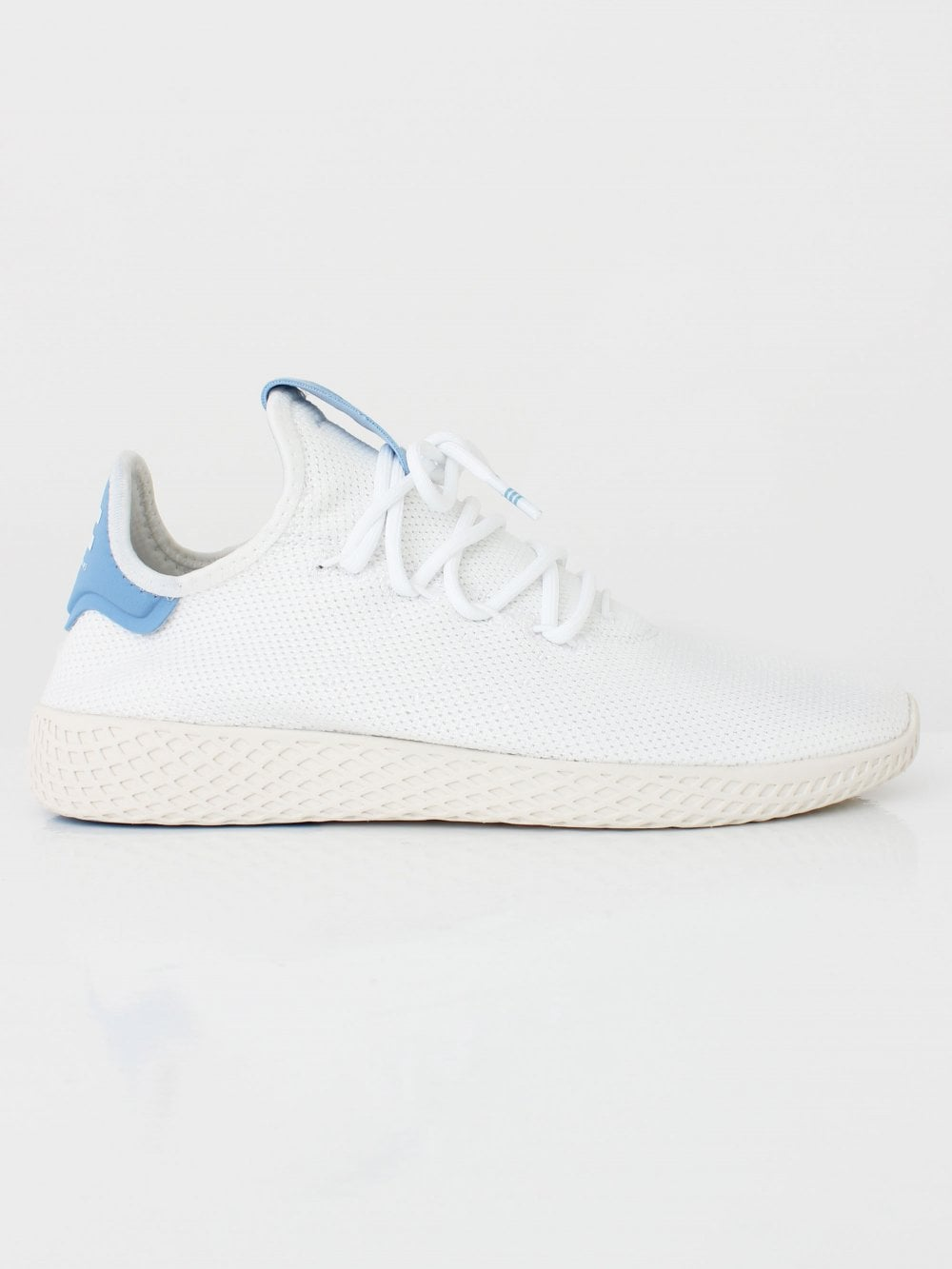 cb129ff0c22a0 AdidasxPharrell Pharrell Williams Tennis HU in White Blue