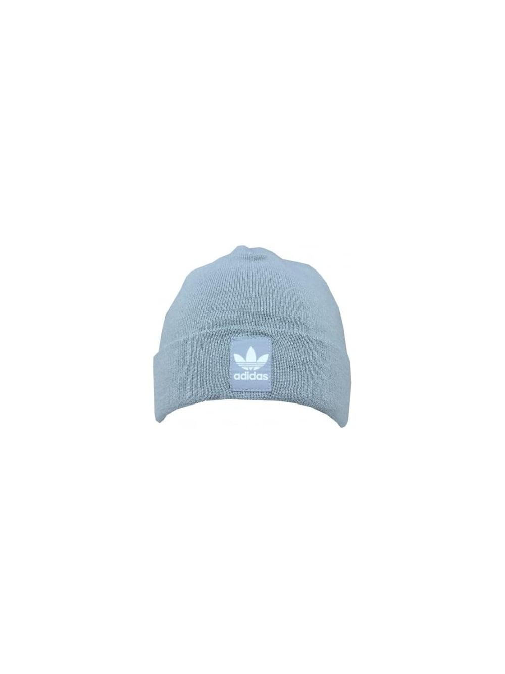 adidas orignals Rib Logo Beanie in Grey - Northern Threads c35b521a533
