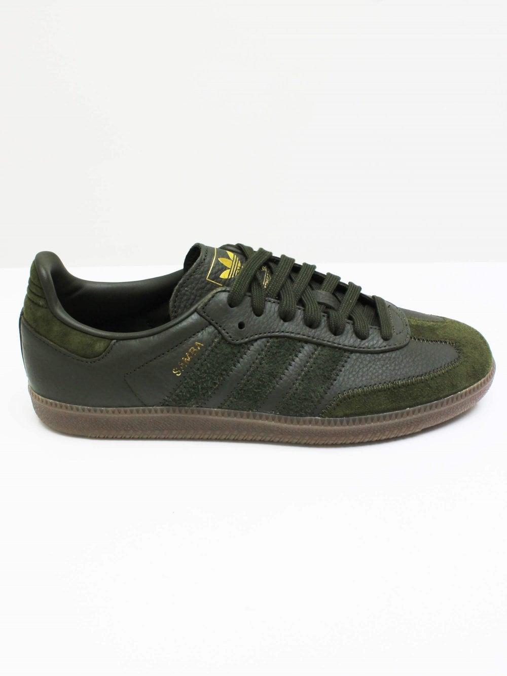 factory authentic run shoes meet Samba OG - Night Cargo