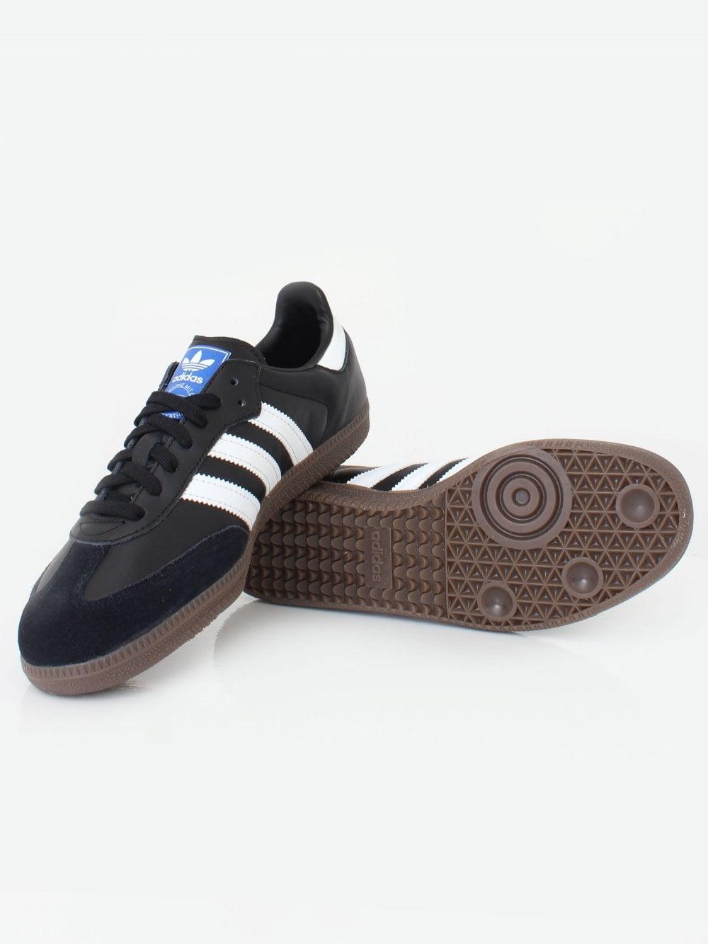 c04e217e744 adidas Originals Samba OG Trainer - Black/White