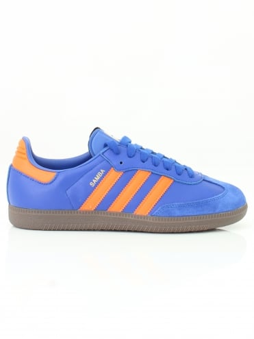 Samba OG Trainer - Blue/Orange