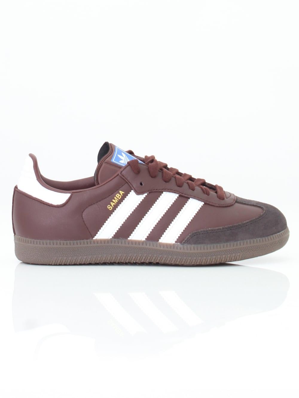 67e6535d56d8cb adidas Samba OG Trainer in Mystery Brown - Northern Threads
