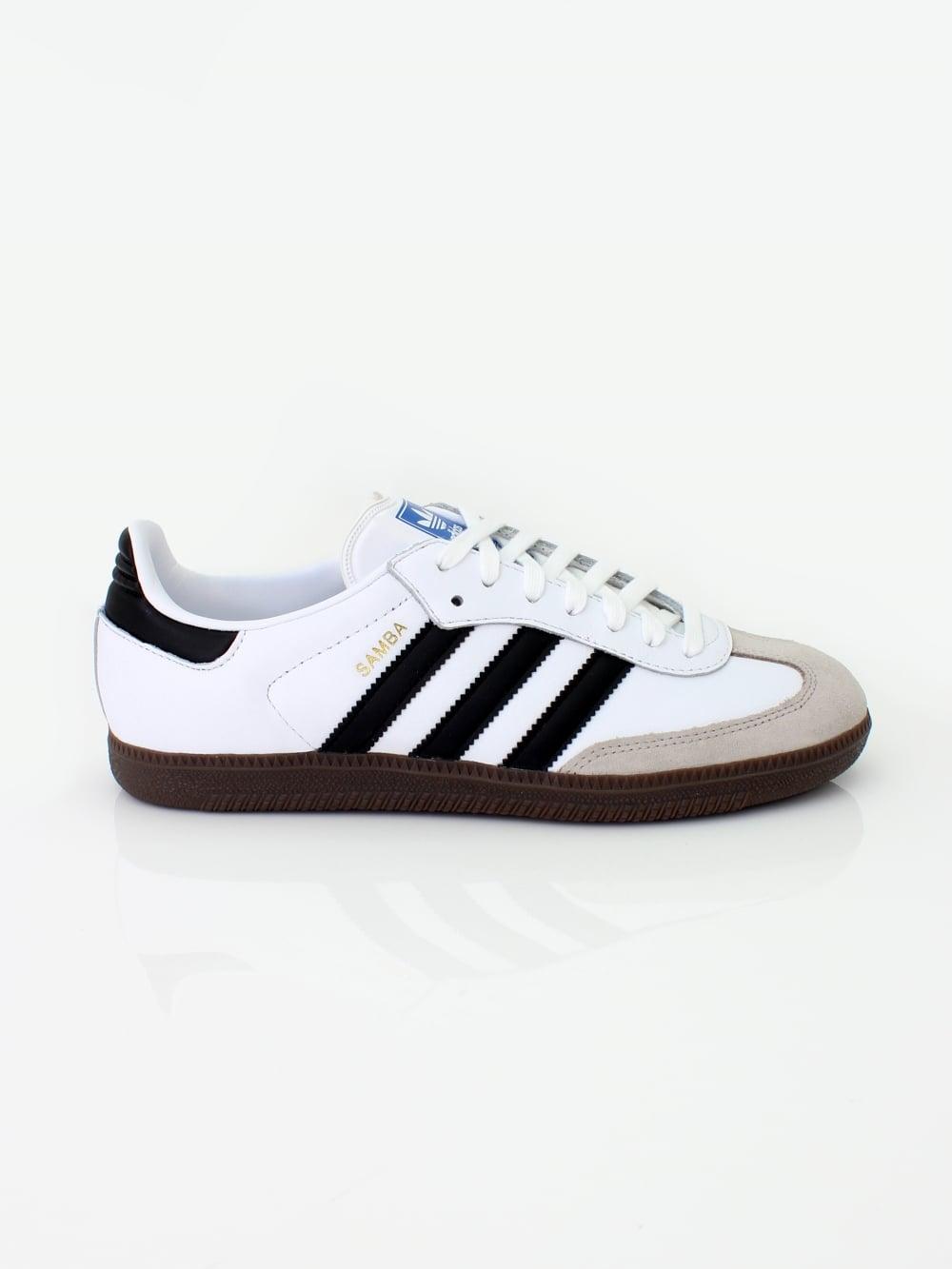 adidas Originals Samba OG Trainers in White Granite - Northern Threads 8699e13f1