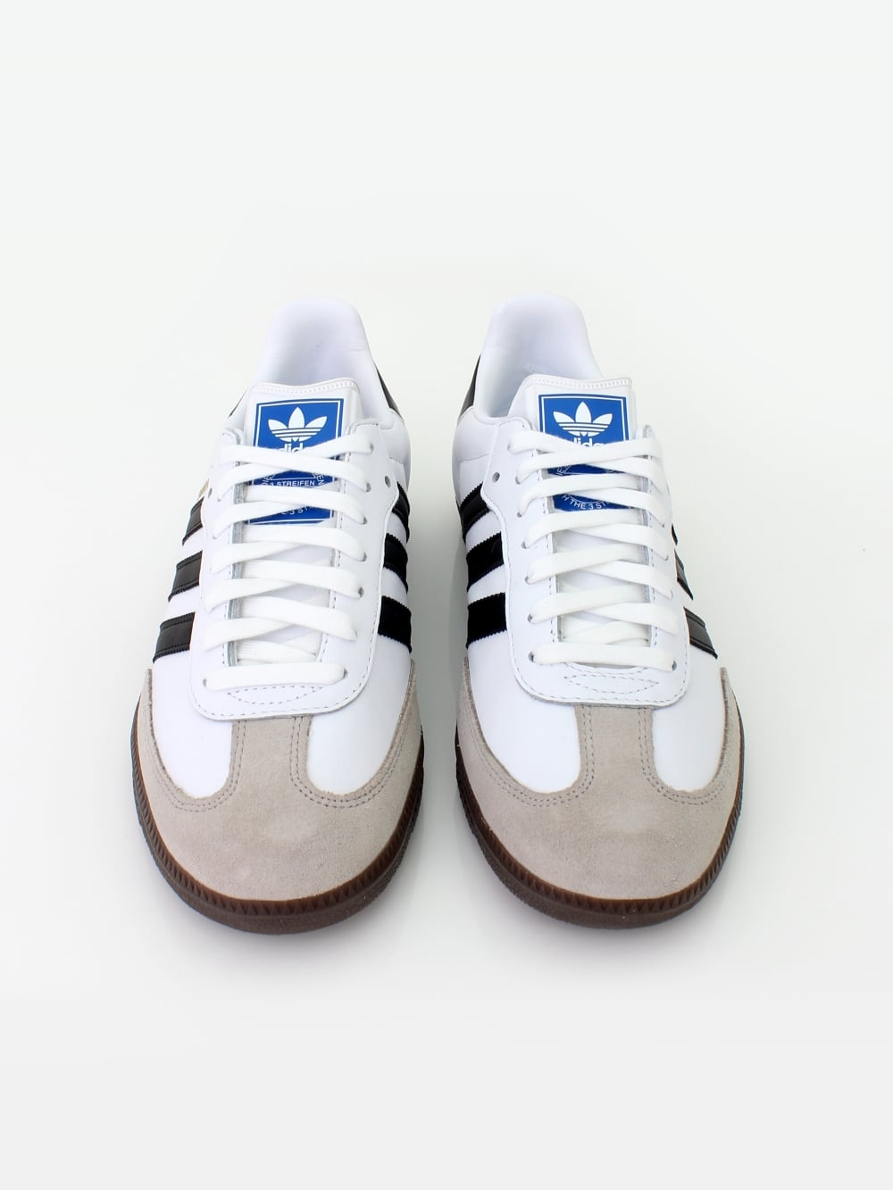 cozy fresh authentic new concept Samba OG Trainers - White/Granite