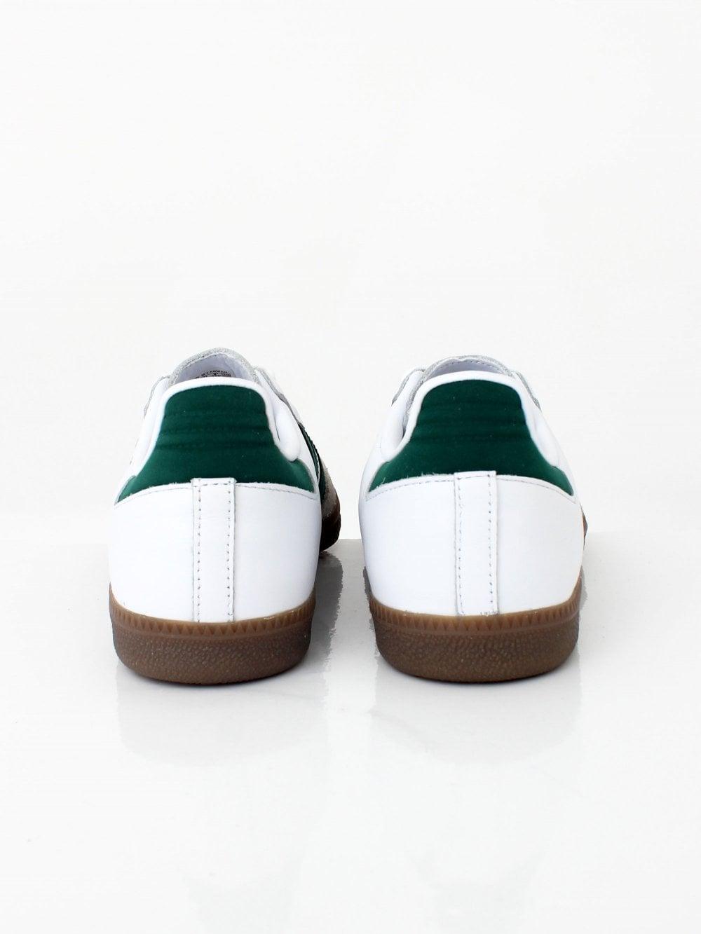 white and green sambas