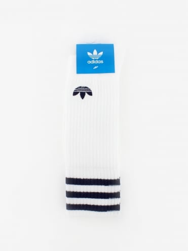 Solid Crew 2 Pack Socks - Blue
