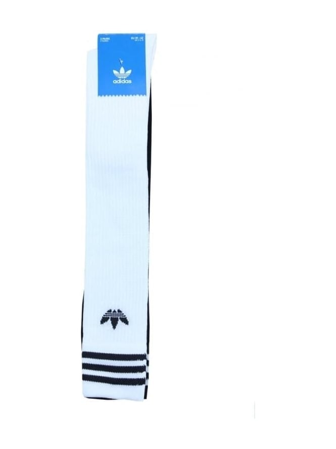 adidas Originals Solid Knee Sock - White