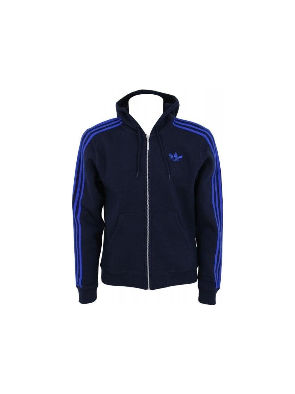 Adidas Spo Hooded Floc Swear in Legend Ink - Northern Threads 39dd2197a