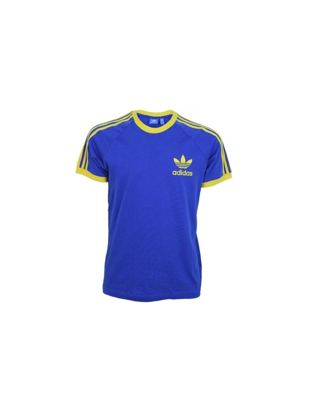 Adidas Originals Sport Essential T Shirt In Bold Blue Northern Threads