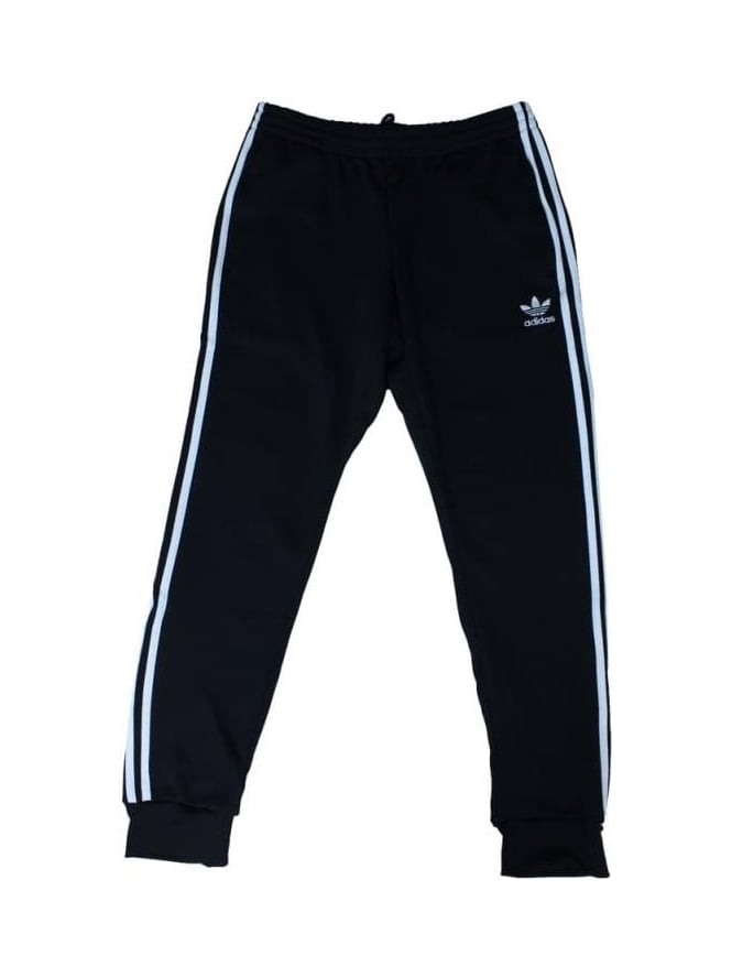 adidas Originals SST Cuffed Track Pants - Black