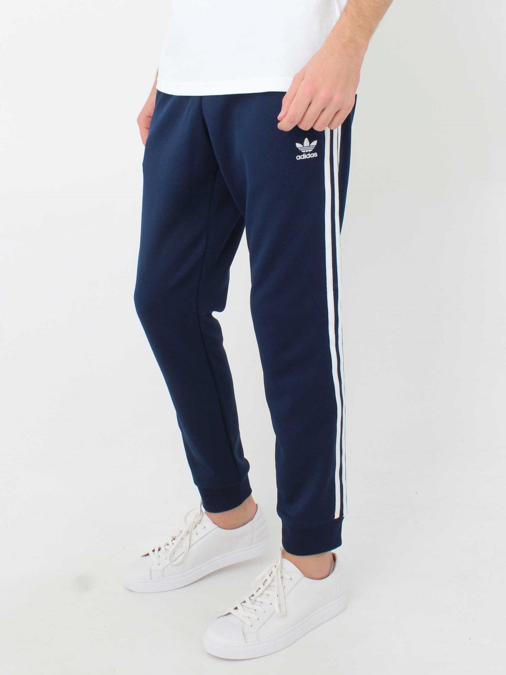 3ded9187cd9a Adidas SST Track Pants in Navy