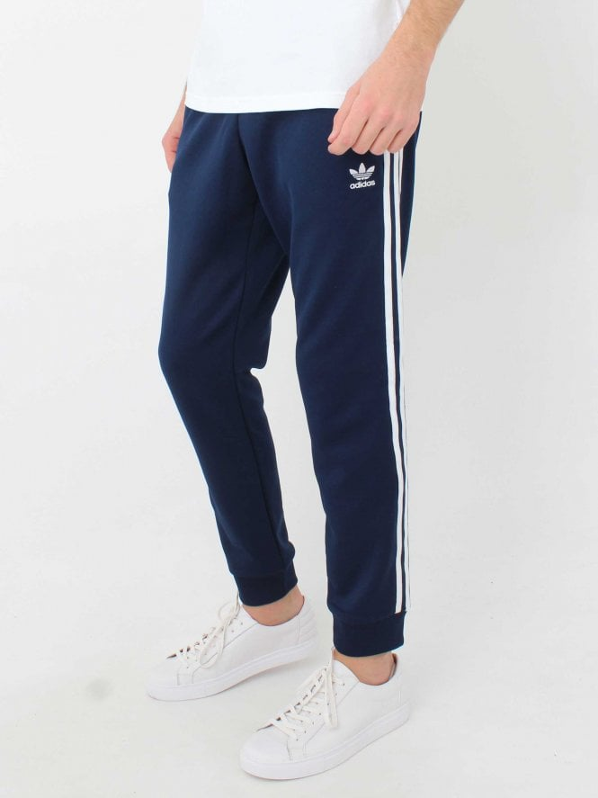 Adidas Sst Track Pants In Navy Northern Threads