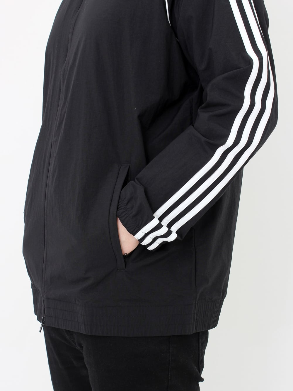 e4aaacd741 adidas Originals SST Windbreaker in Black