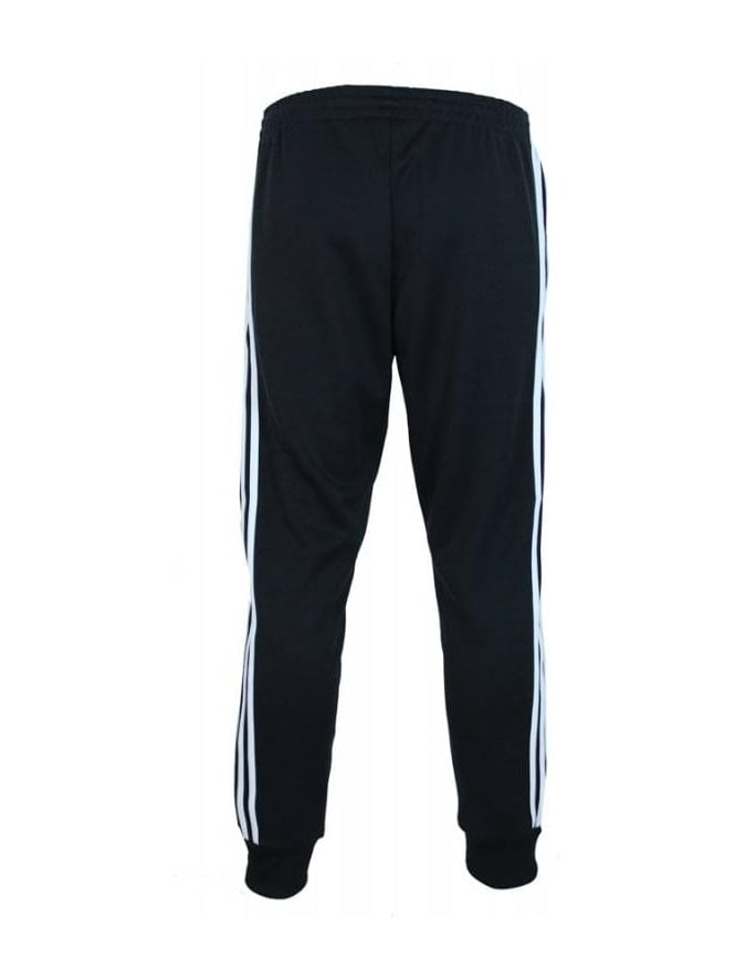 28555ba8de23 Adidas Superstar Cuffed Track Bottoms in Black - Northern Threads