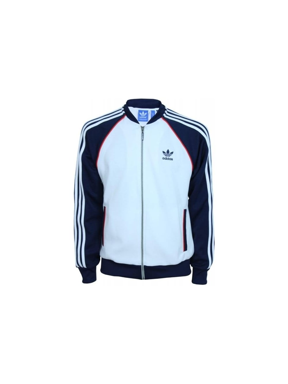 adidas Originals Superstar Track Jacket WhiteNavy