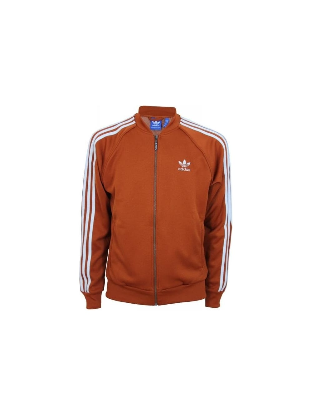 on sale 8a6eb 9d96d Superstar Track Top - Fox Red/White