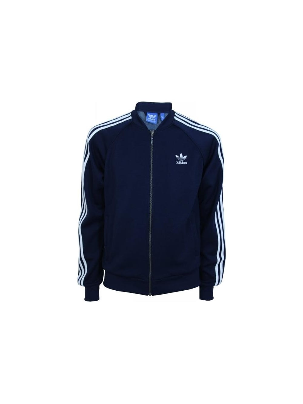 Adidas Superstar Track Top in Navy - Northern Threads 6ae46fcf90e1