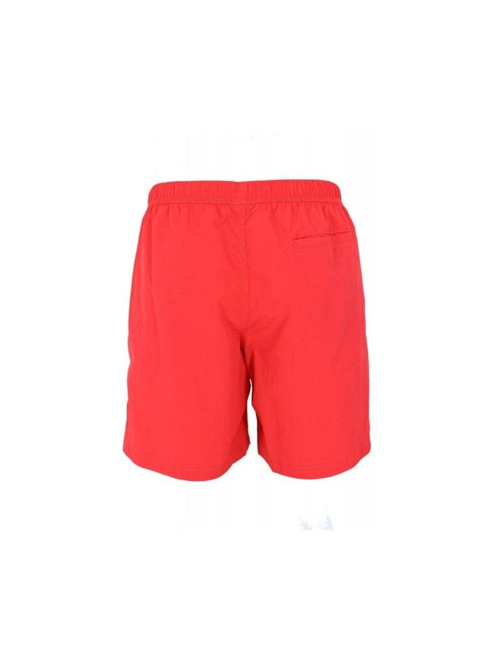 b9532ba19a Adidas Originals Swimming Shorts in Vivid Red - Northern Threads