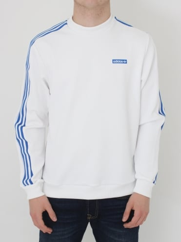 Tennoji Crew Sweat - White