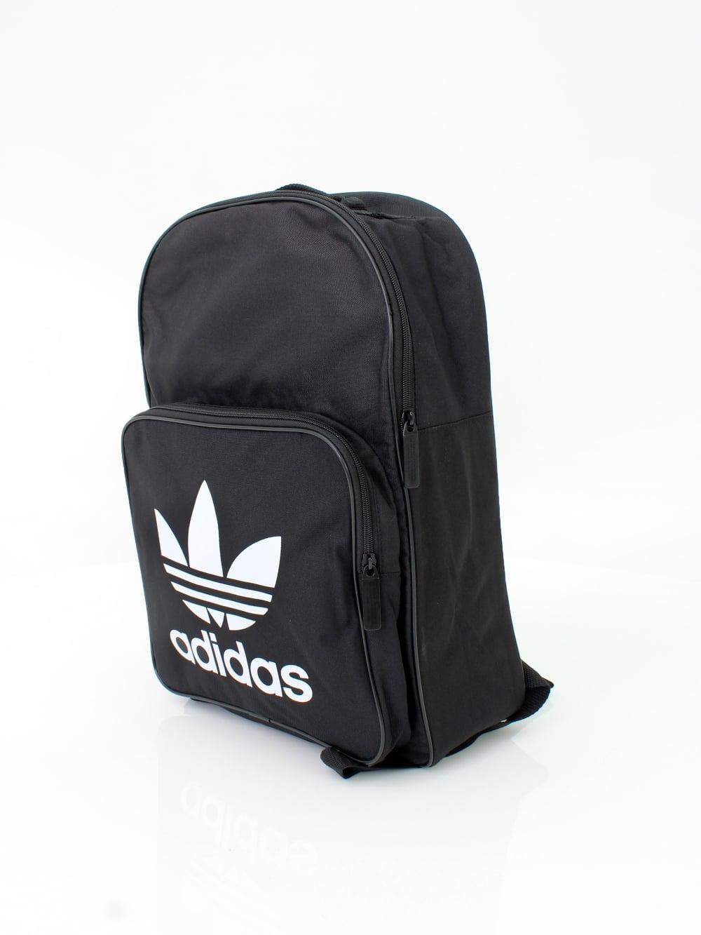 15d9ee13413a adidas Originals Trefoil Backpack in Black