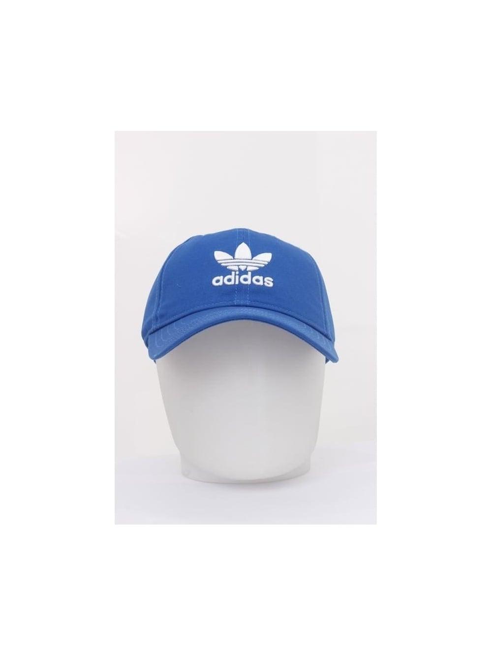 adidas Originals Trefoil Cap in Blue - Northern Threads f92822b5b5e6