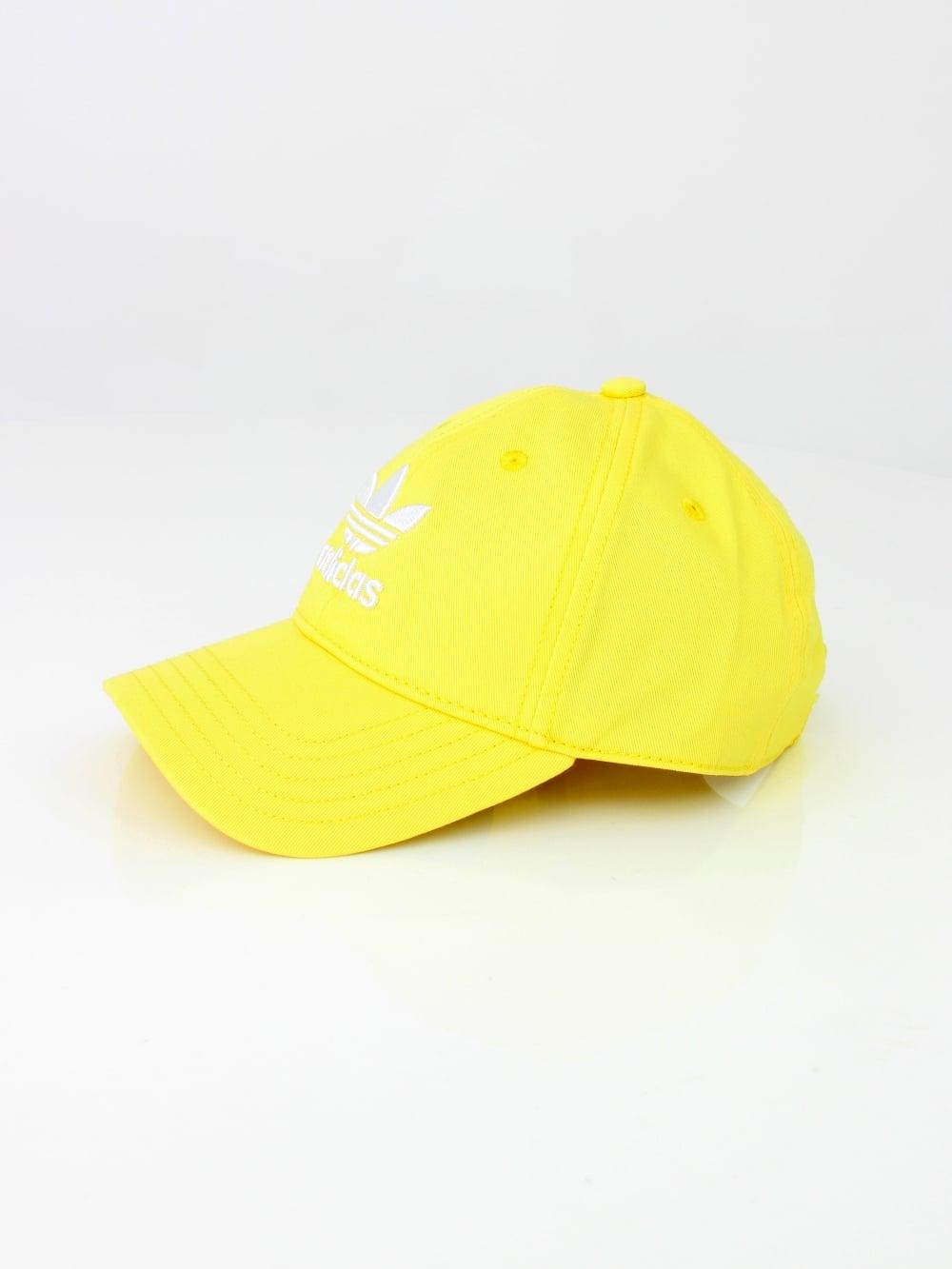 7d5ae5e1d6e Adidas Trefoil Cap in Lemon