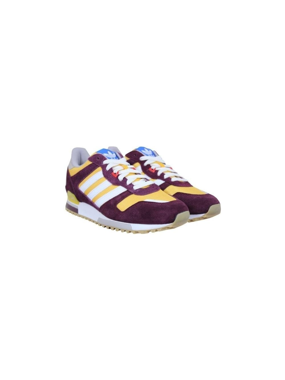 the best attitude 07416 609e0 ZX 700 Trainers - Yellow/Maroon