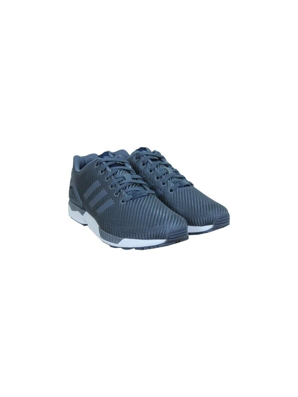 buy popular 4f62c 75dc8 ZX Flux - Onyx White Blue