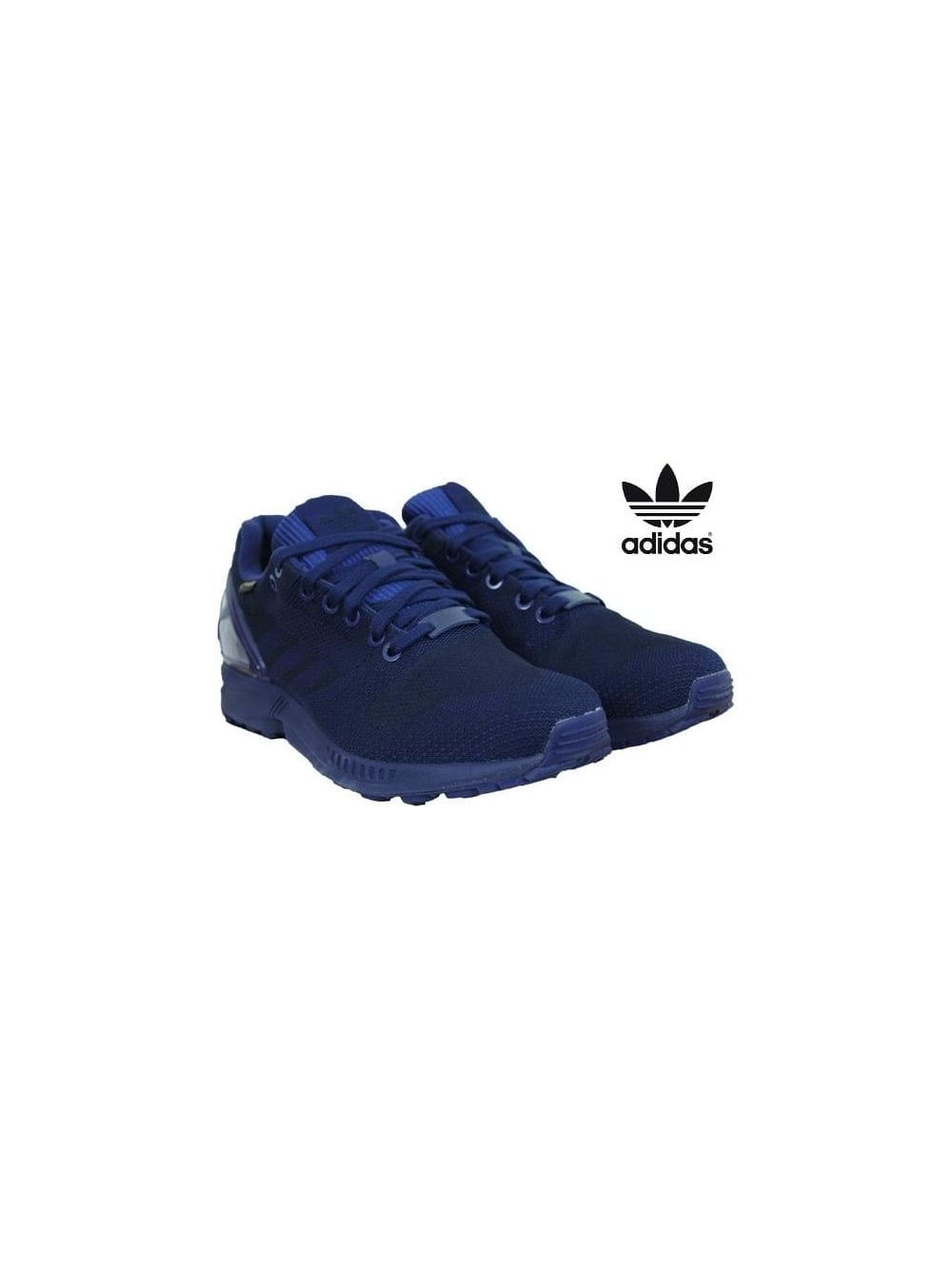 sale retailer 9bb2a 831aa ZX Flux Weave OG Gortex - Dark Blue
