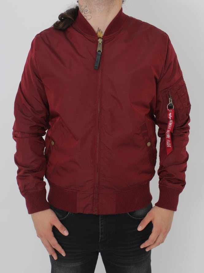 Alpha Industries MA1 TT Jacket - Burgundy