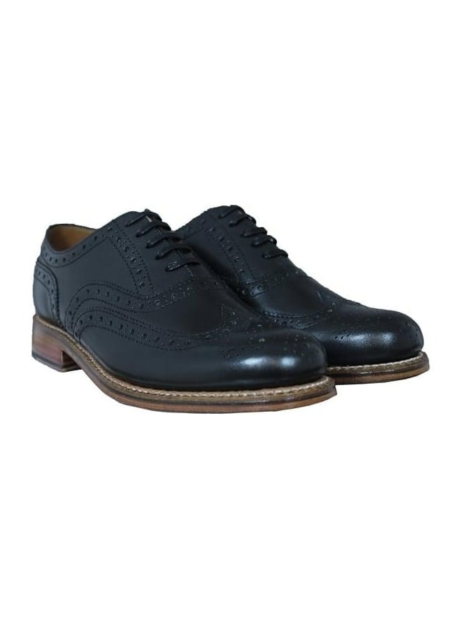 Grenson Angus Brogue - Black