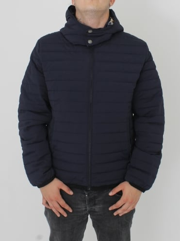 Emmet Diamond Quilted Jacket - Navy