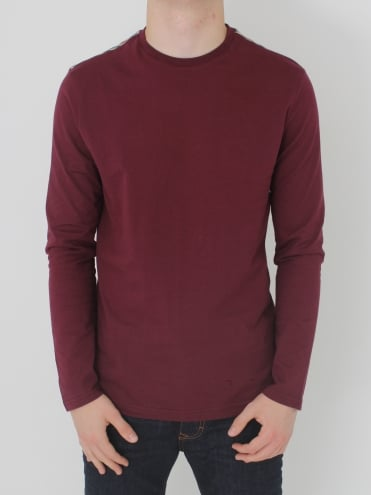 Southport C/C Shoulder T Shirt - Bordeaux