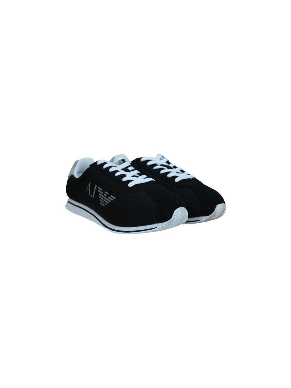 on wholesale great deals 2017 amazon AJ Logo Trainers - Black
