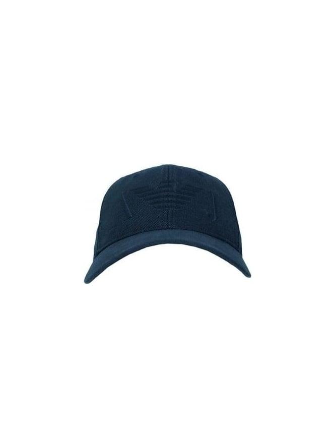 a74fbcd3ff075a Armani Jeans - Armani Jeans Eagle Logo Cap - Black - Mens Designer ...