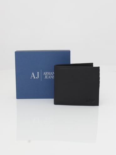Leather Card and Wallet - Black