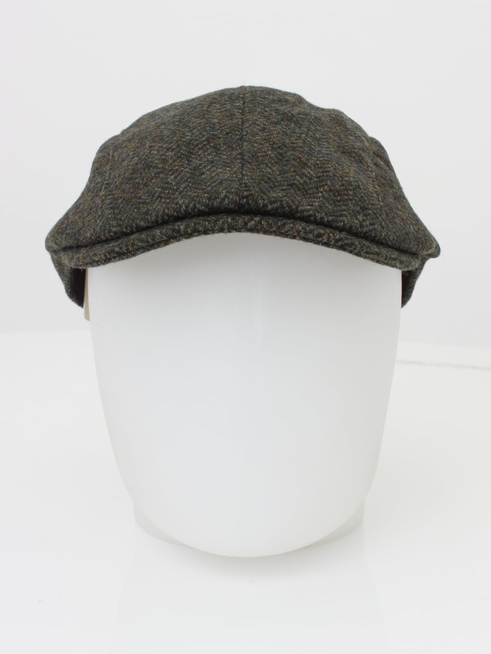 Barbour Herringbone Tweed Cap in Olive - Northern Threads 58329bc7a7c