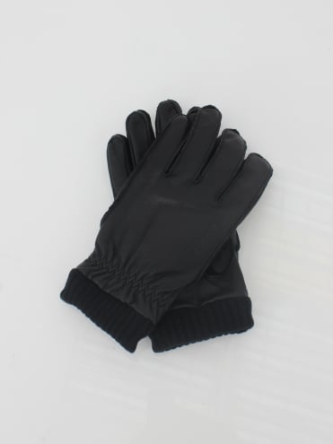 Barrow Leather Gloves - Black