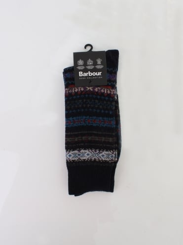 Boyd Socks - Navy