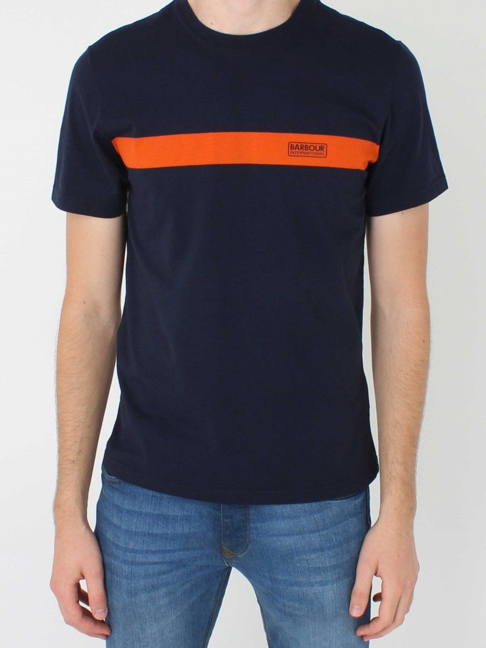 release date good service first look International Line T.Shirt - Navy