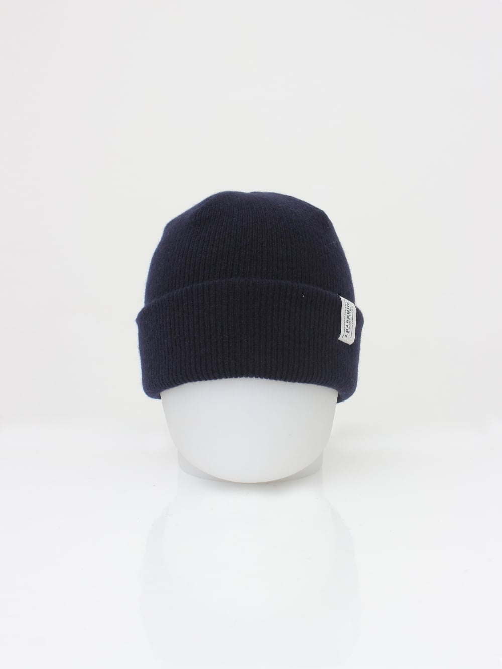 b90577878f0 Barbour Lambswool Watch Hat in Navy - Northern Threads