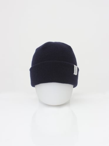 Lambswool Watch Hat - Navy