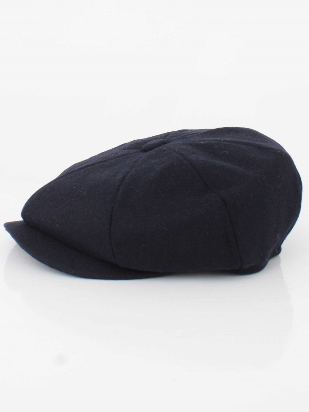 Barbour Melton Bakerboy Cap in Navy  8480d29b61a