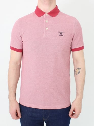 Peak Mix Polo - Red