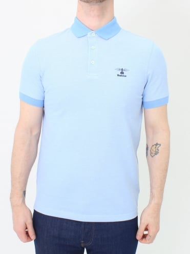 Peak Mix Polo - Sky