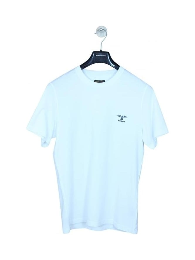 Barbour Standards T Shirt - White