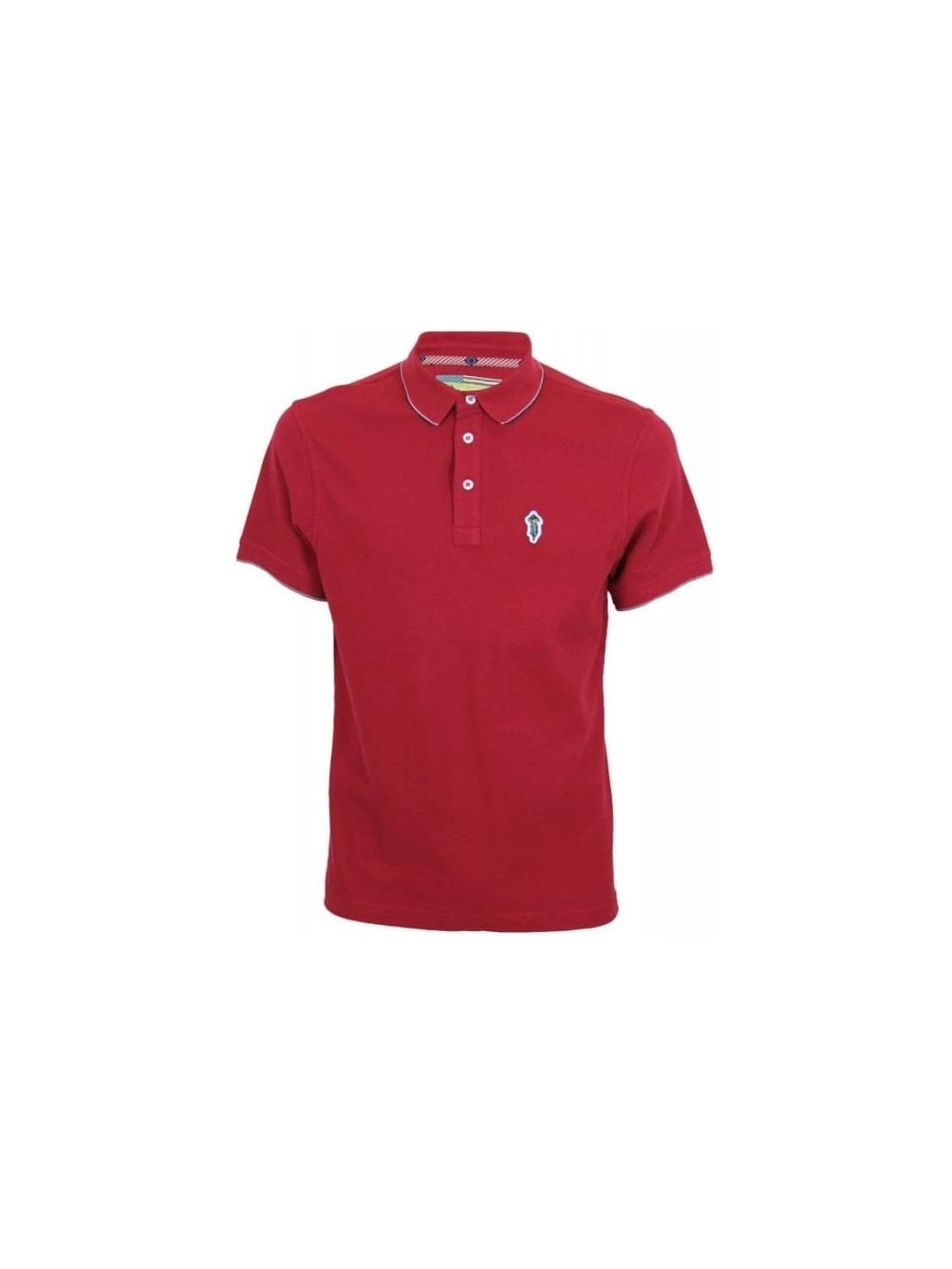 40a82c82c8fe Barbour Steve McQueen Jump Piaue Polo in Chilli Red - Northern Threads