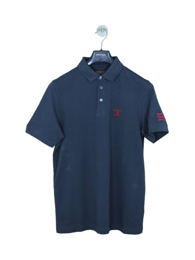 Barbour X NT 10 Year Anniversary Polo - Navy