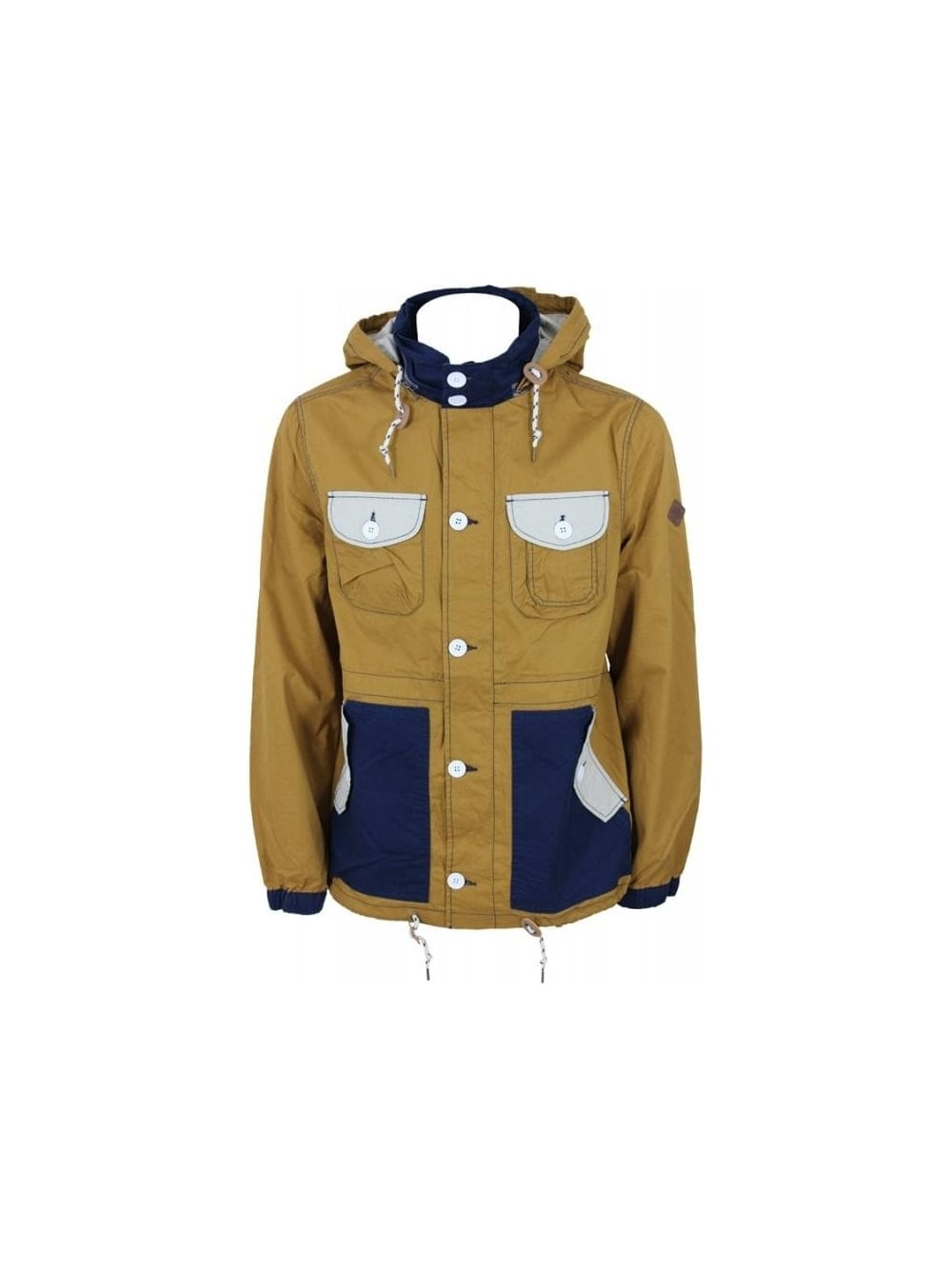 6642eb65c6f Bellfield Hideout Fisherman Jacket in Mustard - Northern Threads