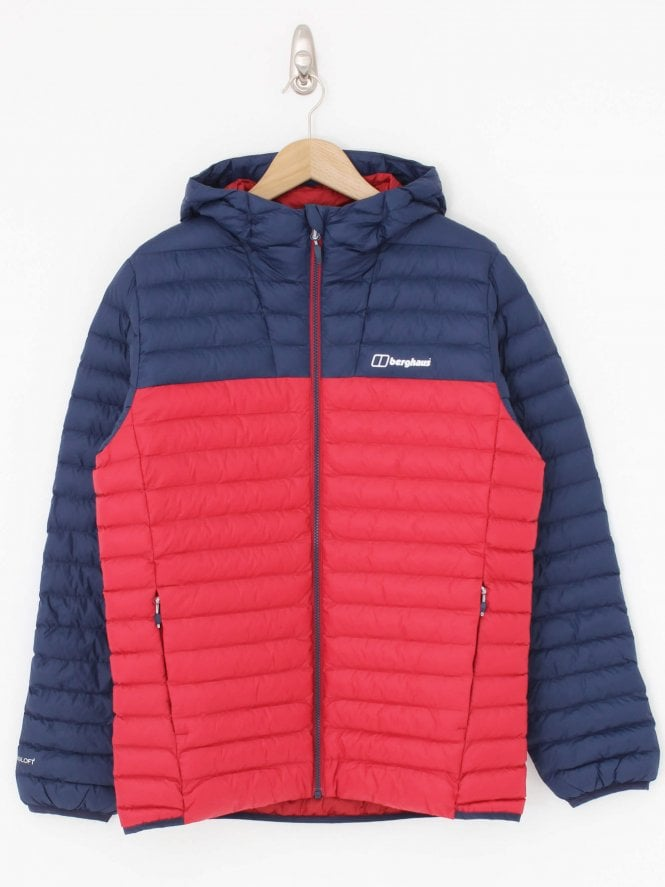 Berghaus Vaskye Insulated Jacket - Navy/Red
